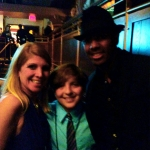 Frankie Flora with Nick Cannon